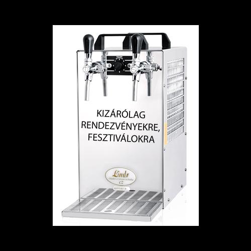 Kontakt 40 Pultra helyezhető bor hűtő/csapoló elektromos, vagy CO meghajtású szivattyúval